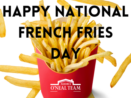 Happy National French Fries Day!
