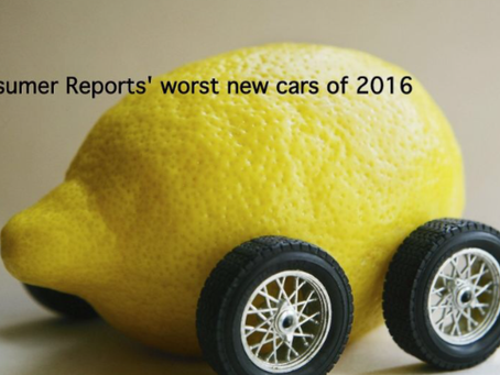 Car Buying 2016 – Lemons to the Best!