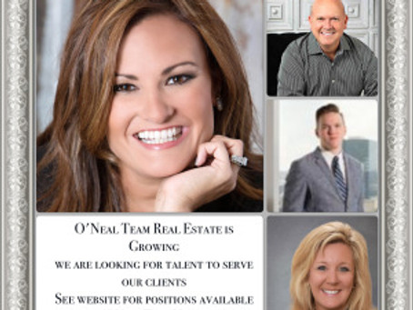 O'Neal Team Real Estate is Growing in Houston