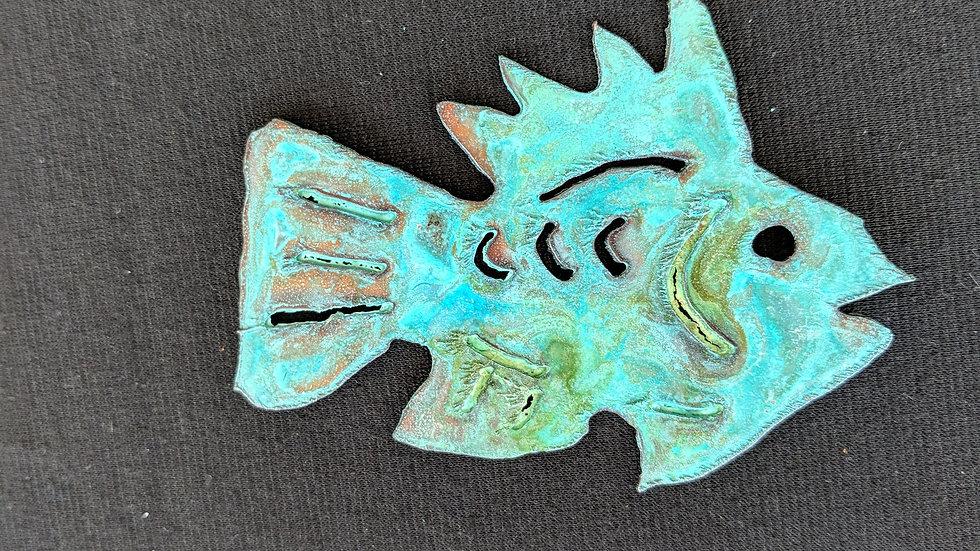 Small, copper fish