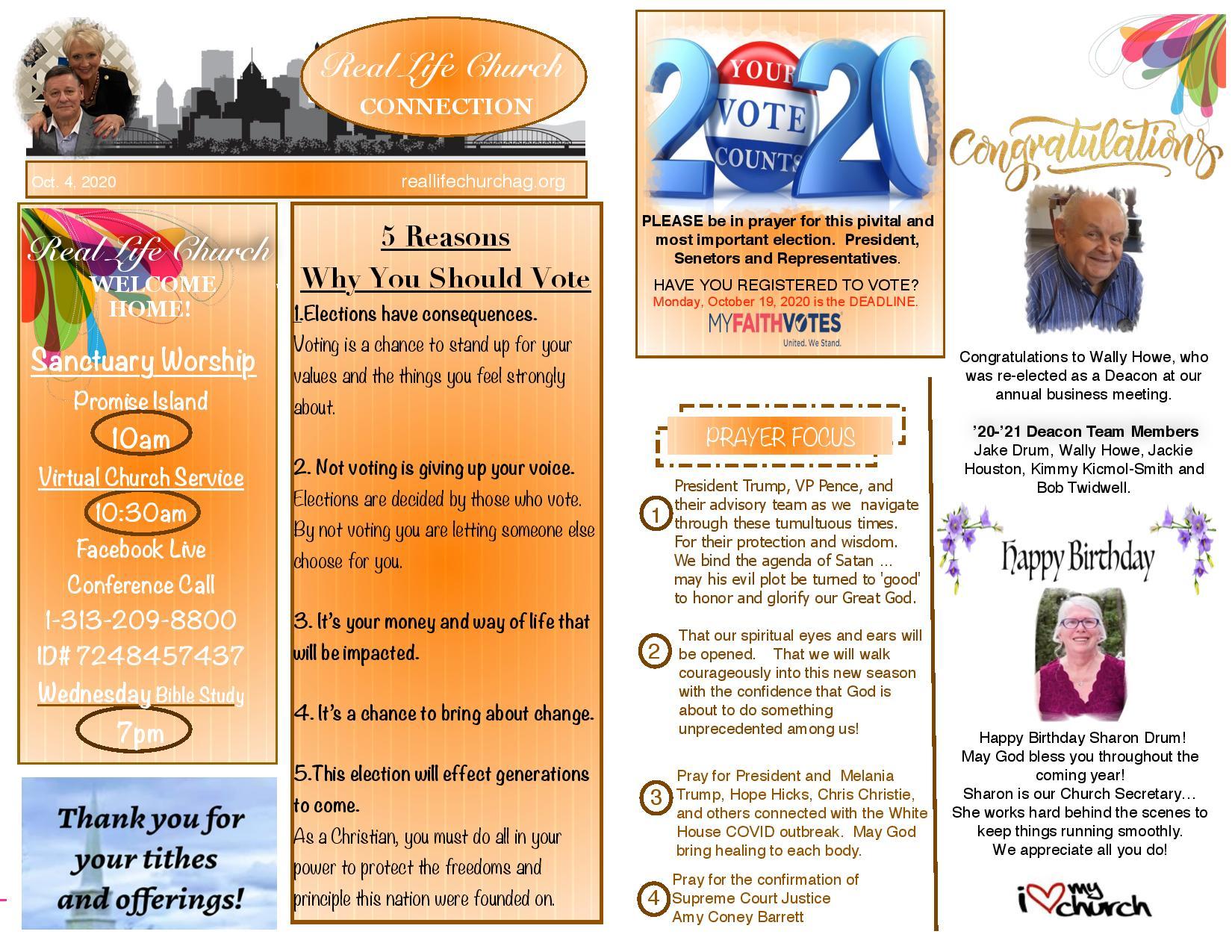 bulletin 10-4-2020