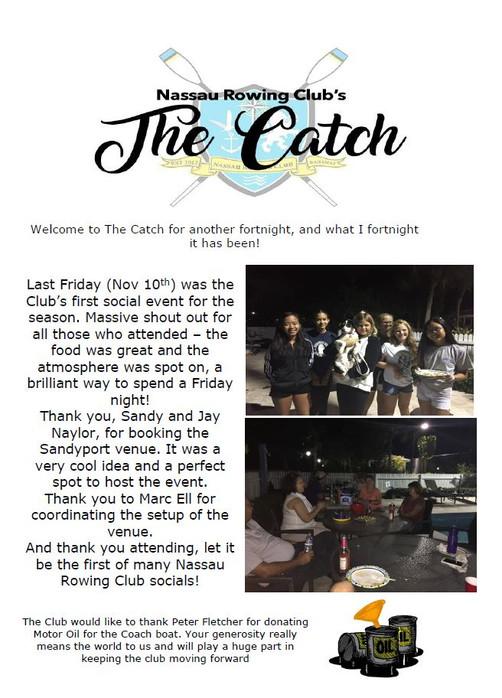 The Catch 17/11
