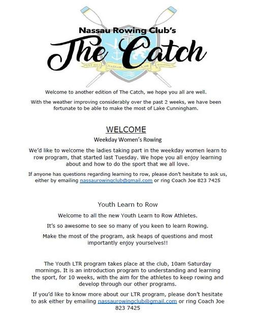 The Catch 27/01