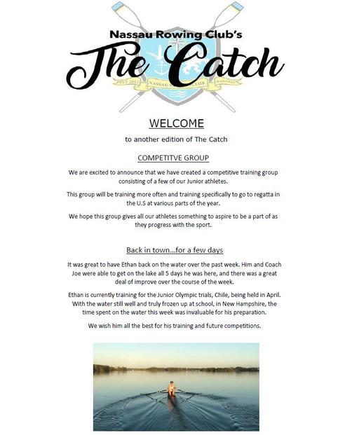 The Catch 11/02