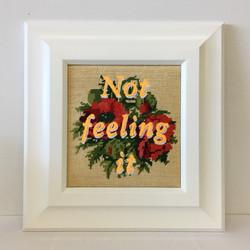 Not Feeling it