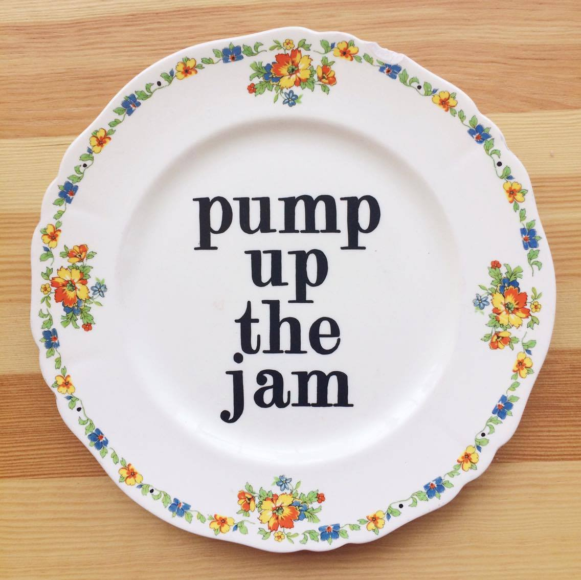 Pump up the jam
