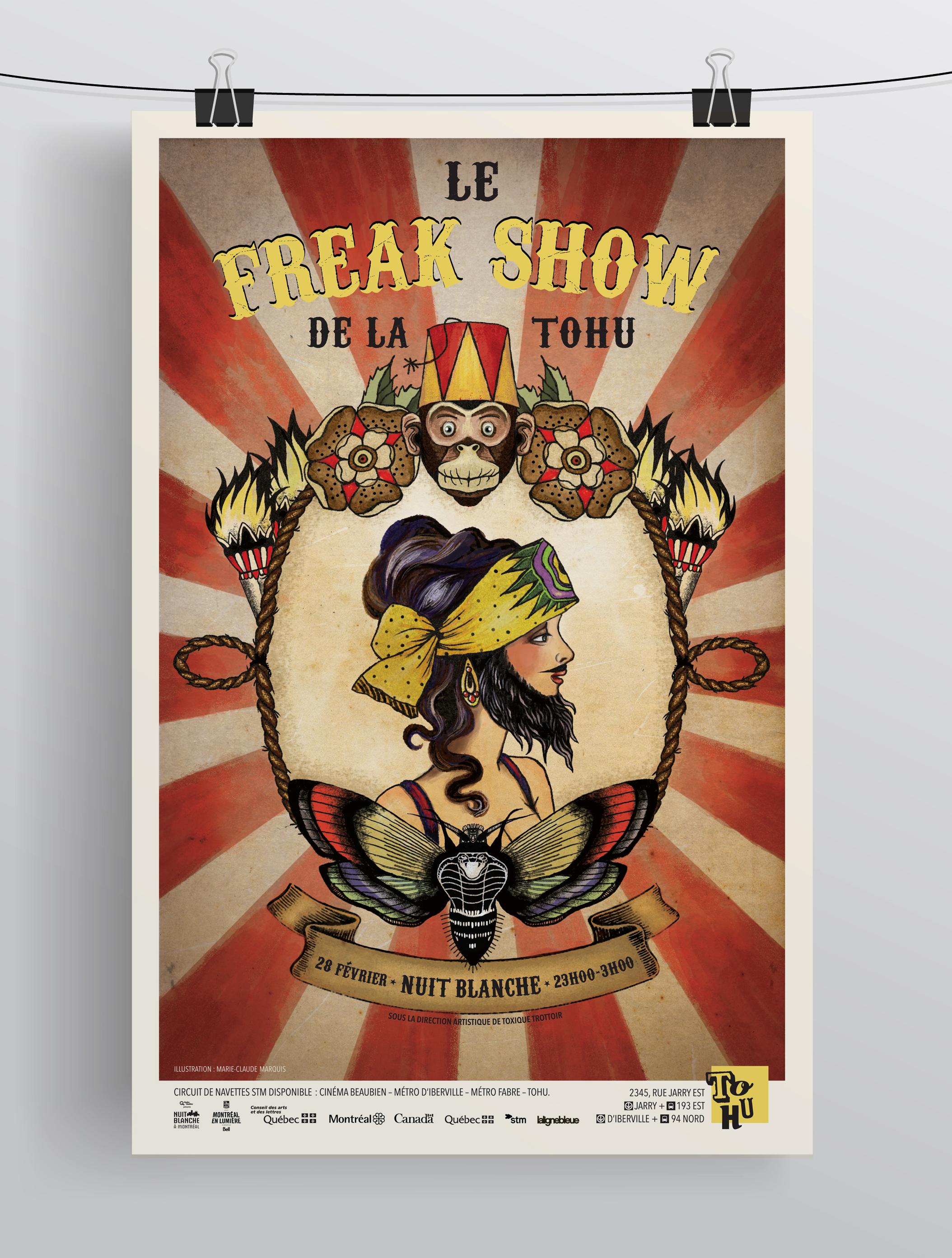 Le Freak Show de la TOHU