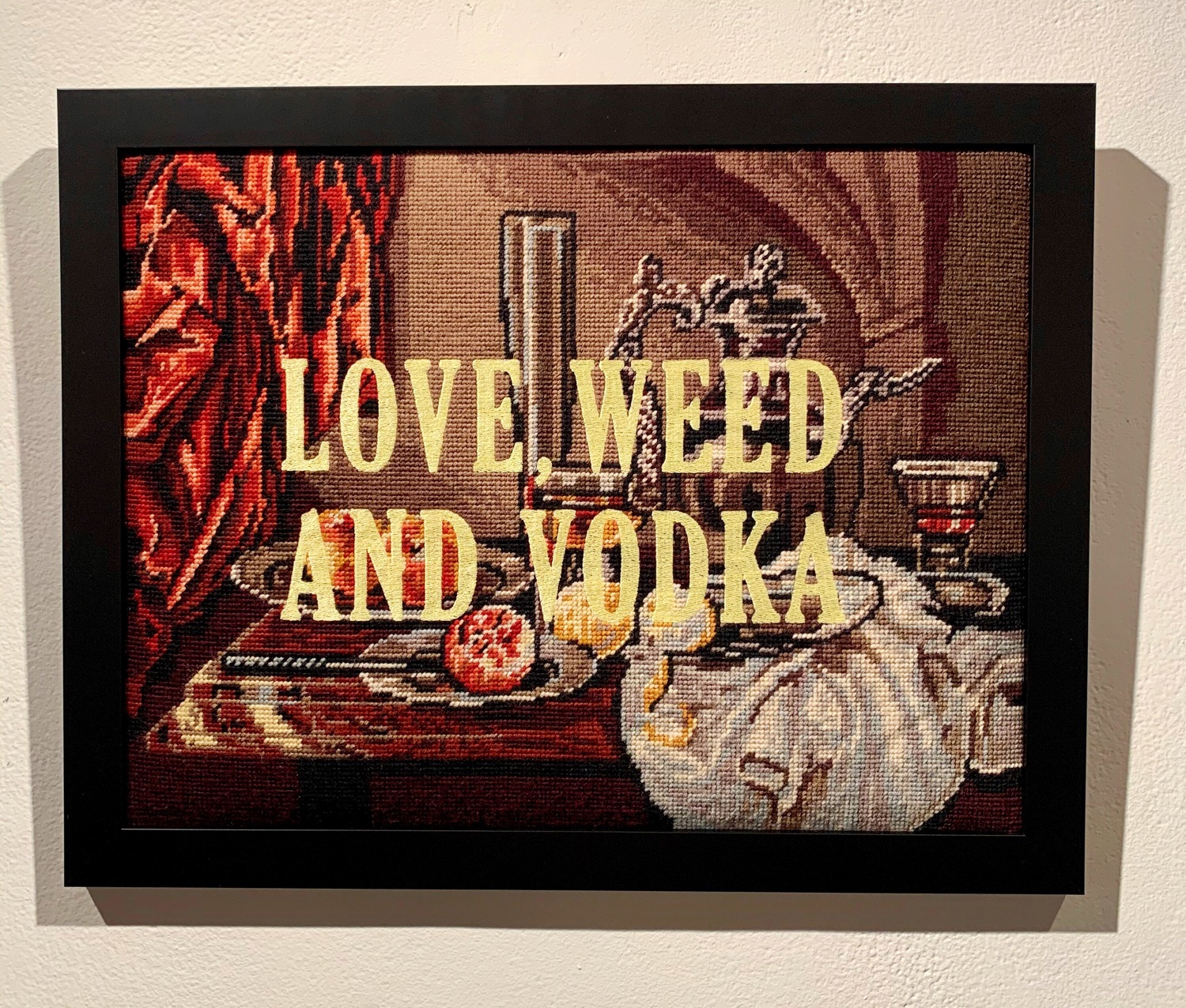 Love, weed and vodka