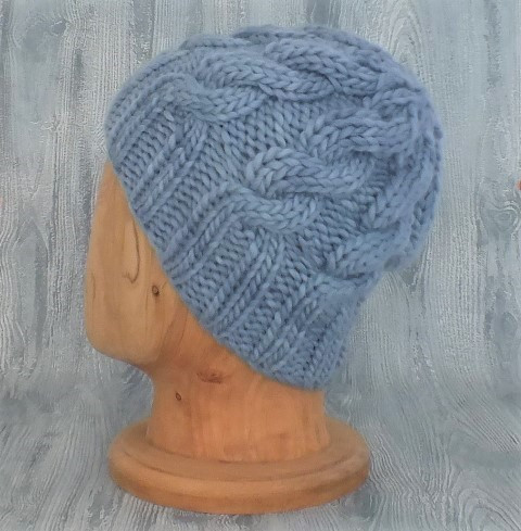 The Bluebird Cabled Slouchy