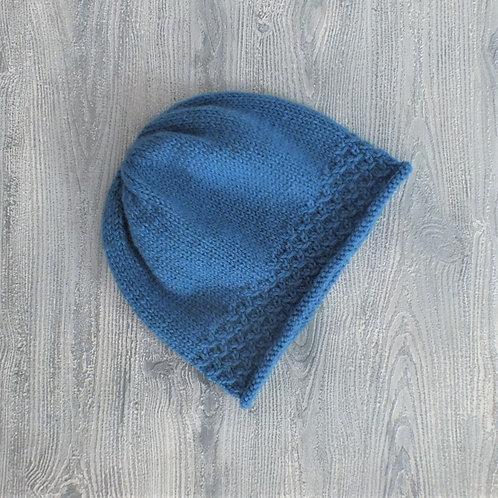 Blue Lace Beanie