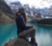 Riz Zo in Banff, Canada