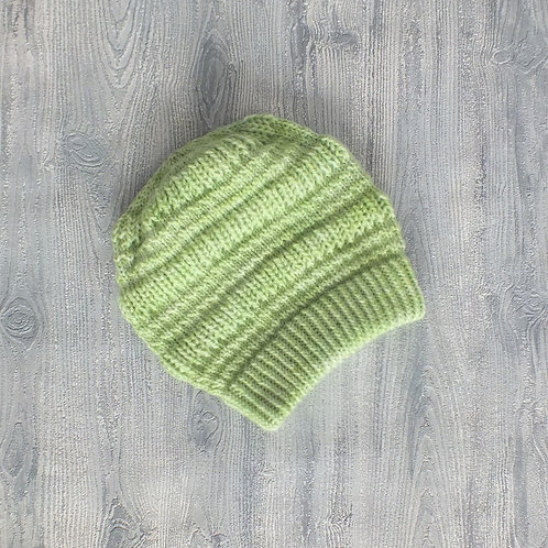 Just Lime Textured Slouchy