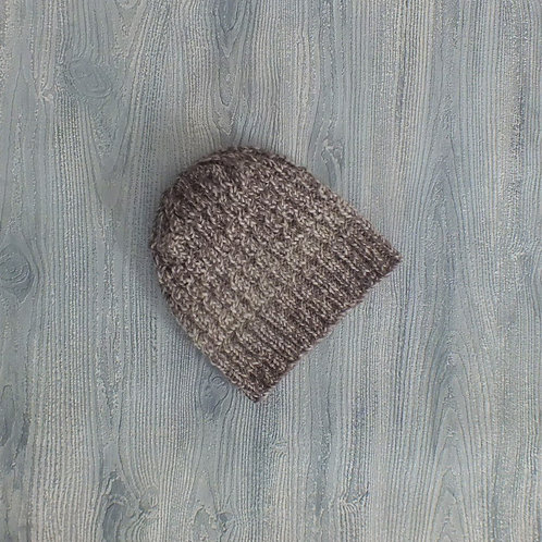 Silver Birch Mini-cabled Beanie