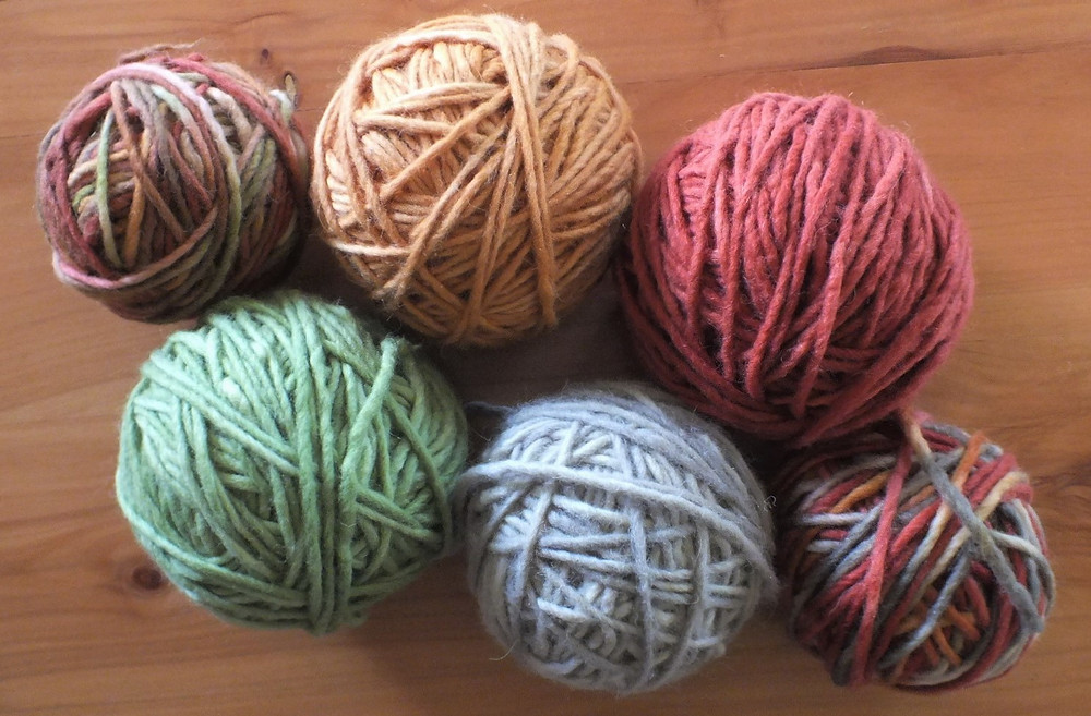 Autumn Inspiration Hand-dyed yarns