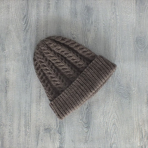 Fawn Feather Beanie