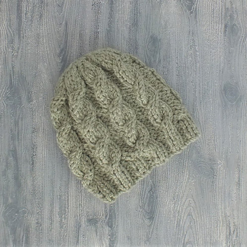 Lichen It Cabled Slouchy