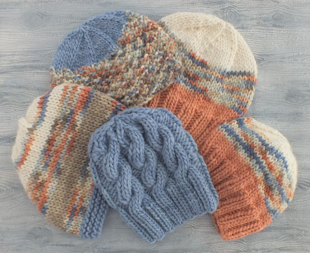 The Little Birdies Collection of beanies and slouchies