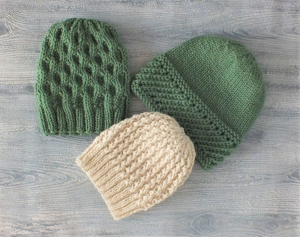 One Beanie for Mum and two beanies for kids