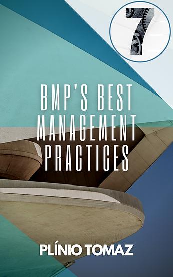 BMP's Best Management Practices (melhoria da qualidade das águas pluviais)