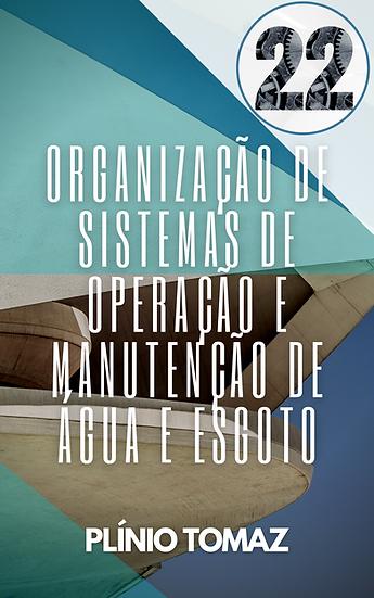 Organização de Sistemas de Operação e Manutenção de Água e Esgoto