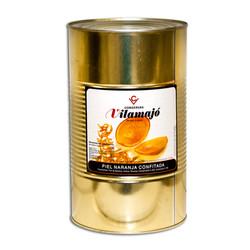 Pell de taronja confitada