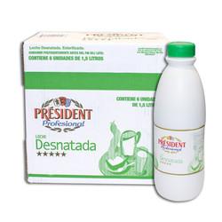President Llet Desnatada Ampolla