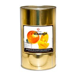 Taronja a quarts confitada