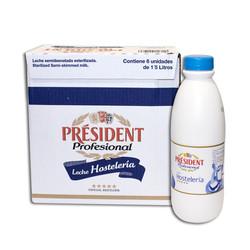 President Llet Semi Botella