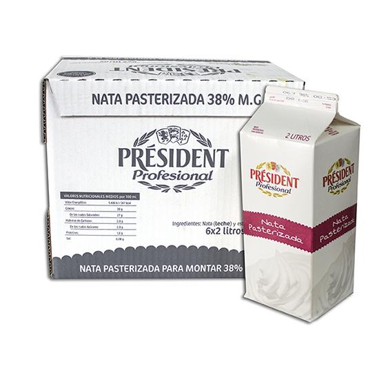 President Nata Fresca 38%