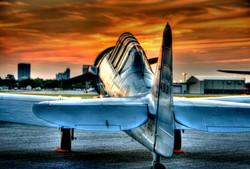 T-6 Sunset