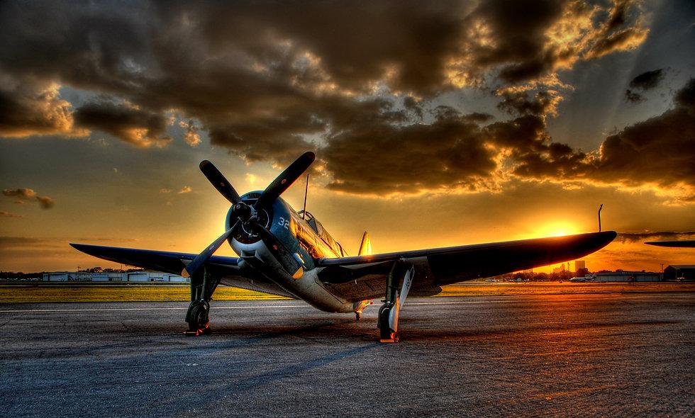 "SB2C ""Helldiver"" Sunset"