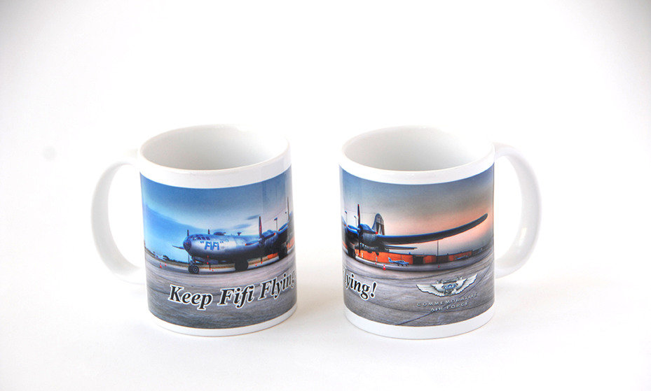 "B-29 ""Superfortress"" FIFI Mug - FIFI CR2"