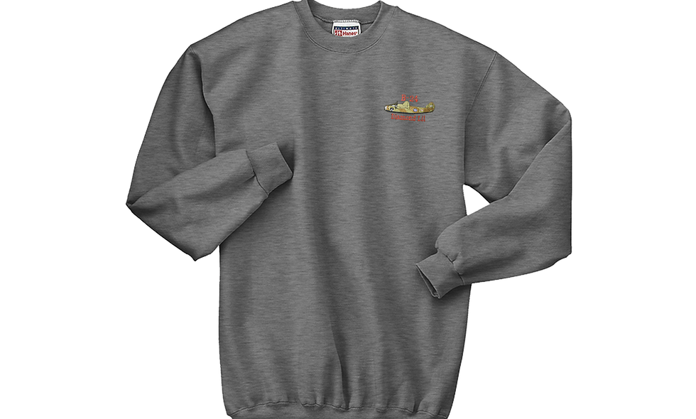"B-24 ""Liberator"" Diamond Lil Crew Neck Fleece"