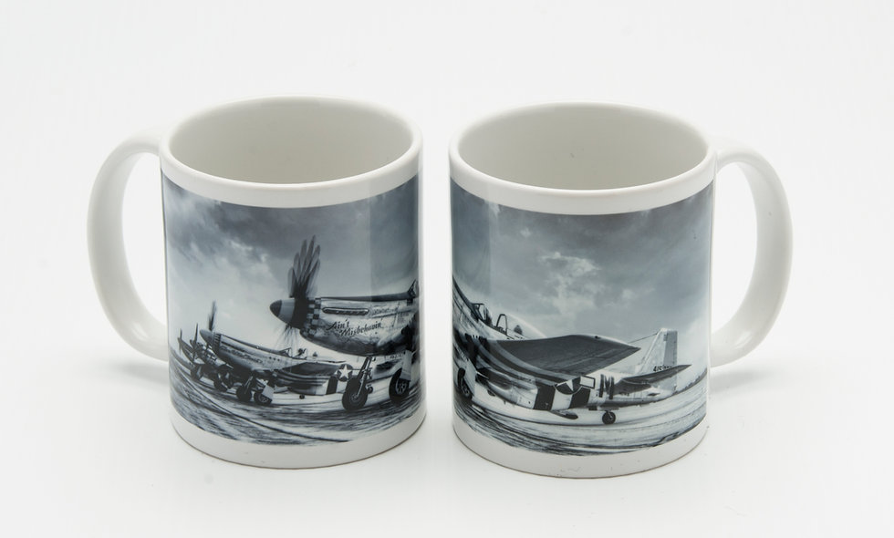 "P-51 ""Mustang"" Dawn Patrol Mug"