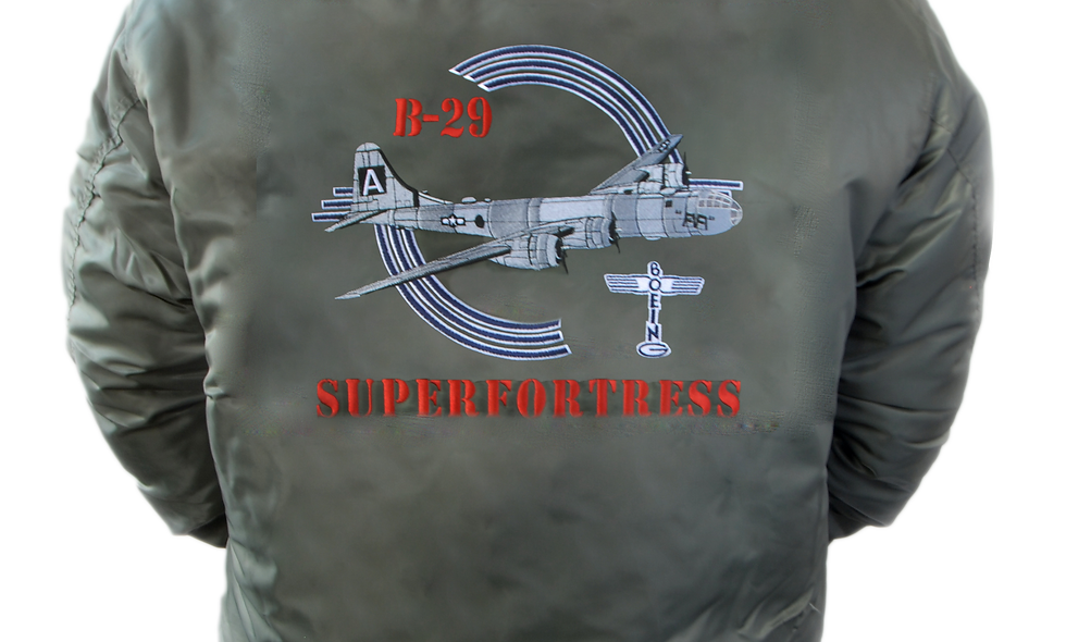 "B-29 Superfortress ""FIFI"" MA-1 Flight Jacket"