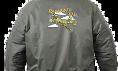"""B-24 """"Liberator"""" Diamond Lil MA-1 Flight Jacket"""