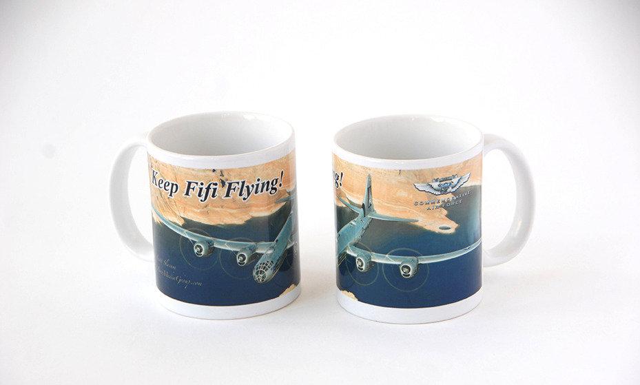 "B-29 ""Superfortress"" FIFI Mug - Monument Valley"
