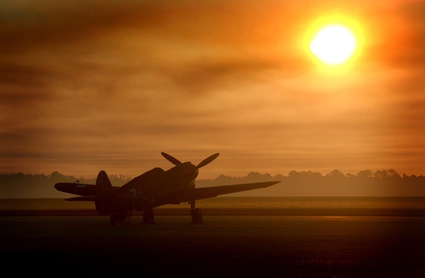 P-40 Sunrise