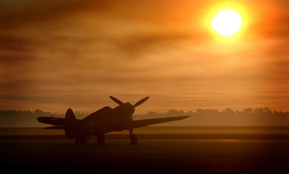 """P-40 """"Warhawk"""" Sunrise"""
