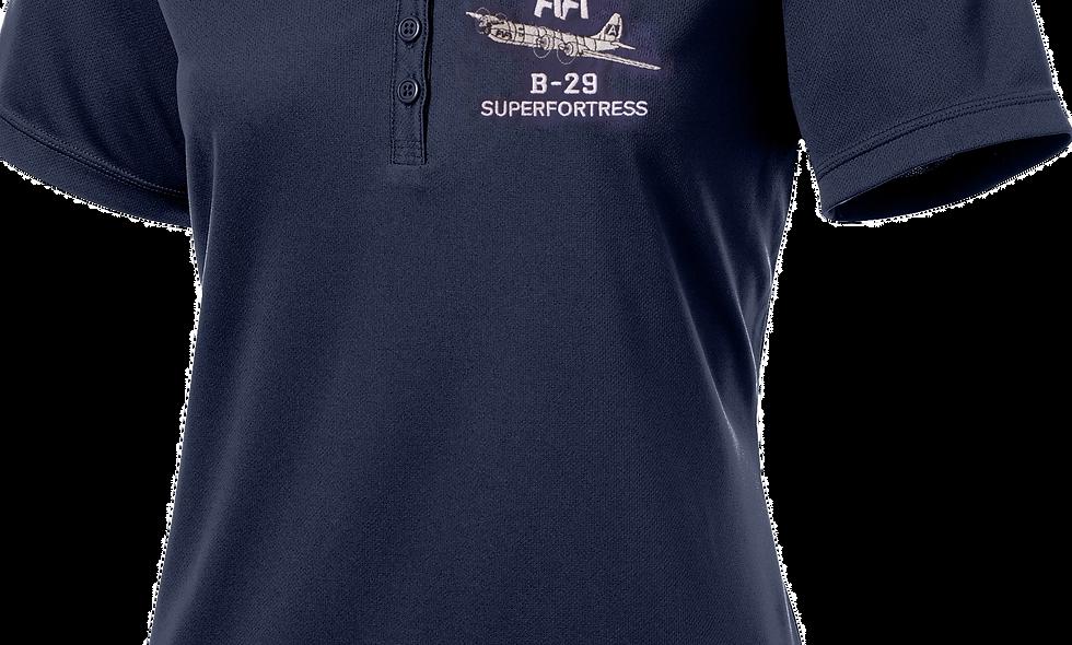 """FIFI"" B-29 Superfortress Ladies Performance Polo Shirt"