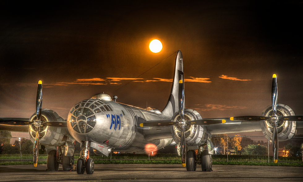 "B-29 ""Superfortress"" FIFI Moon"