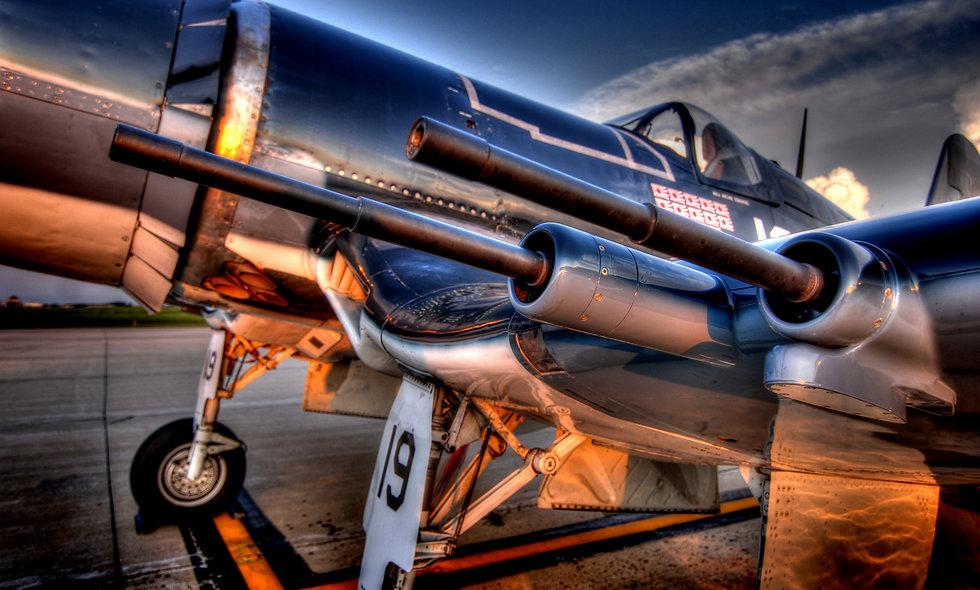 """F4-U """"Corsair"""" Guns"""
