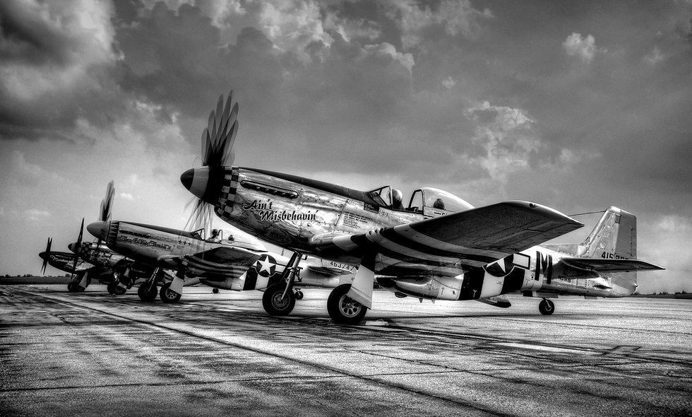 """P-51 """"Mustang"""" Dawn Patrol"""