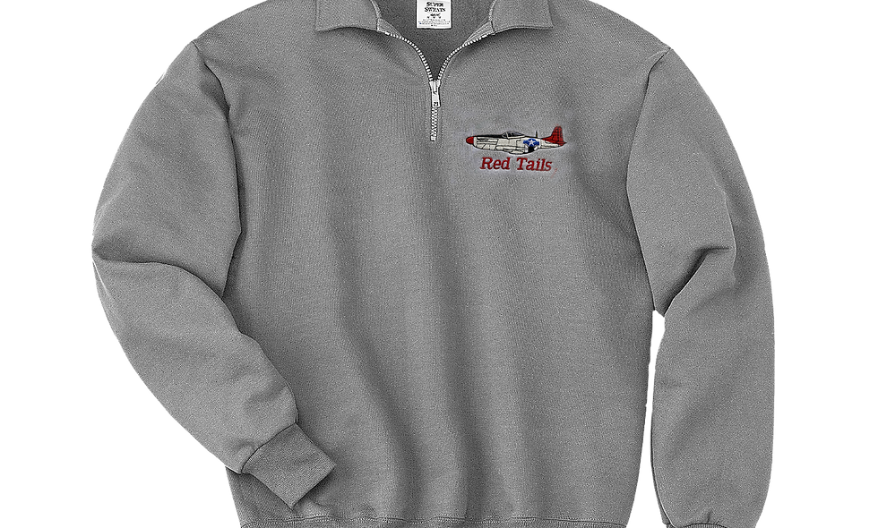 RED TAILS Quarter Zip Fleece