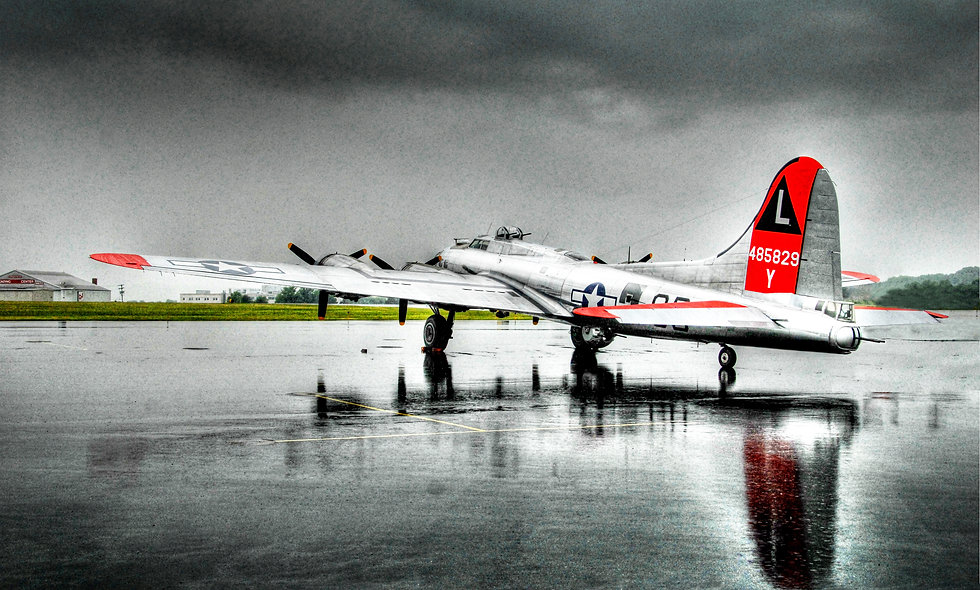 "B-17 ""Flying Fortress"" Rain"