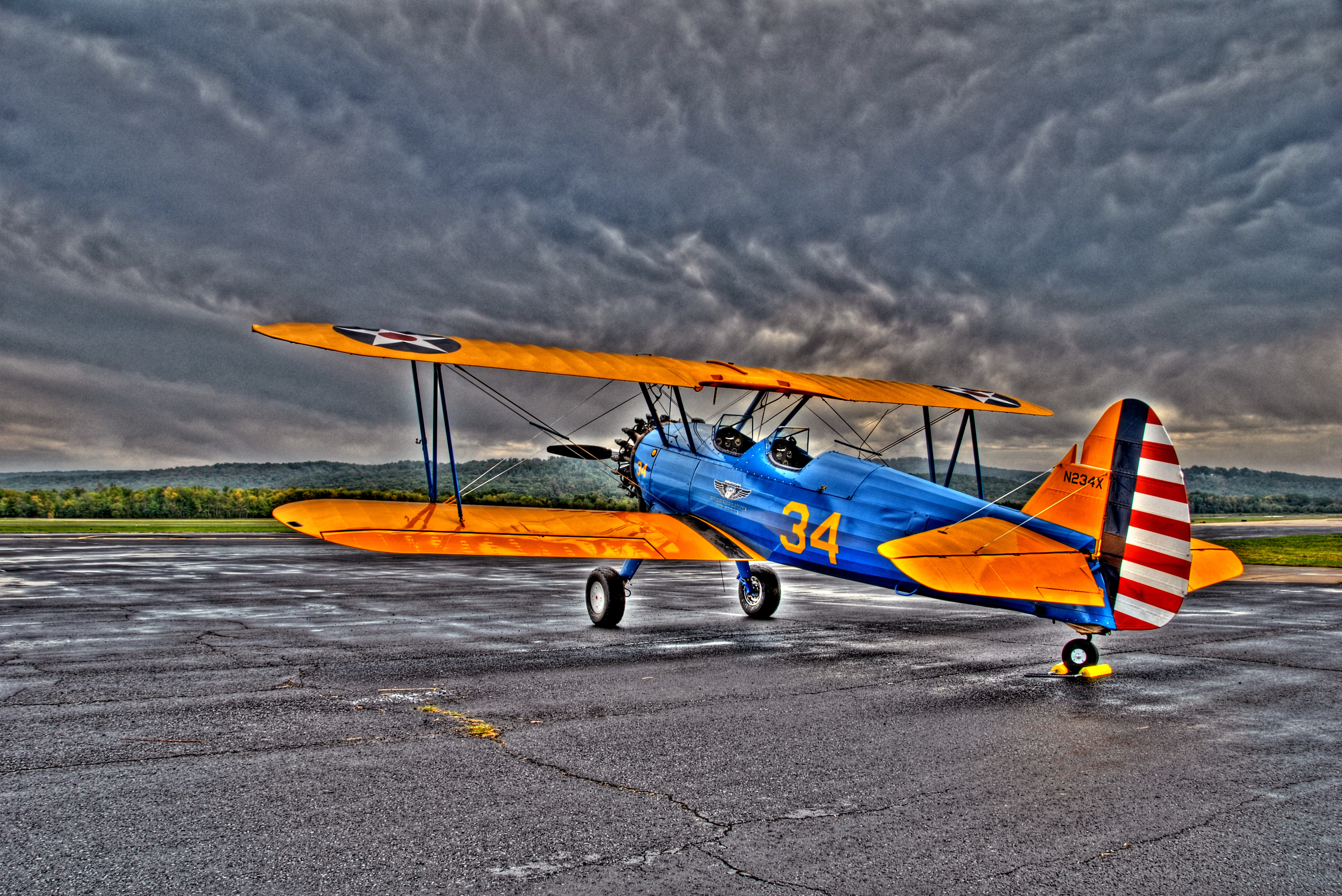 Stearman Rear