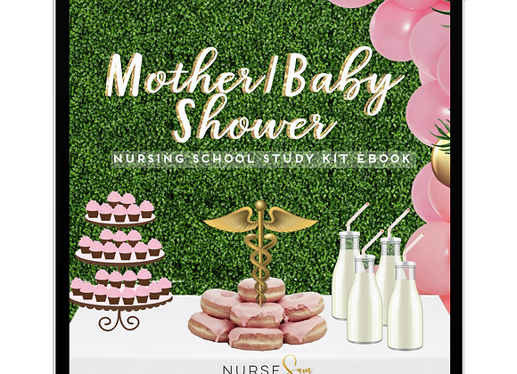 Maternity/OB Nursing School Study Kit