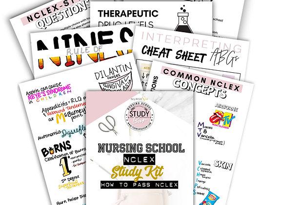 NCLEX Study Kit