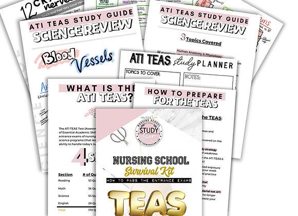 ATI TEAS Science Study Kit