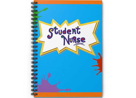 Rugrats 'Student Nurse' Spiral Notebook - Ruled Line